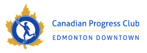 Canadian Progress Club – Edmonton